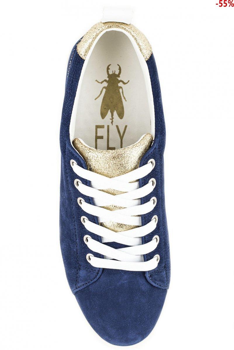 Trampki Fly London MACO 833 Blue Nubuk