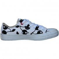 Trampki Converse CHUCK TAYLOR OX White Black cherries 547343C