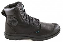 Trapery Palladium PAMPA SPORT CUFF WP Black 72991001 WATERPROOF