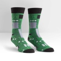 Skarpety męskie Sock It To Me Circuit Board MEF0076