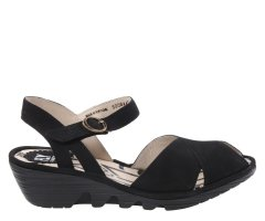 Sandały Fly London PEKE 844 Black Cupido P500844002