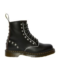 Buty Dr. Martens 1460 STUD Black Rolled Vintage Smooth 25202001