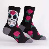 Skarpety damskie SOCK IT TO ME Sugar Skull W0327