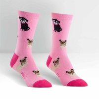 Skarpety damskie Sock It To Me PINK PUG