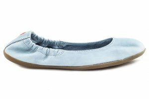 Balerinki Softinos ONA 380SOF Pastel Blue Smooth