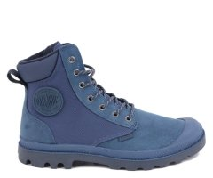 Trapery Palladium PAMPA SPORT CUFF WPN Dark Denim 73234477 WATERPROOF