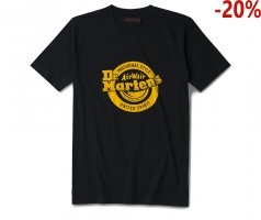 T-Shirt Dr. Martens LOGO  Black Yellow AC723001