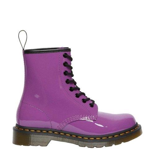 Buty Dr. Martens 1460 Bright Purple Patent Lamper 26425501