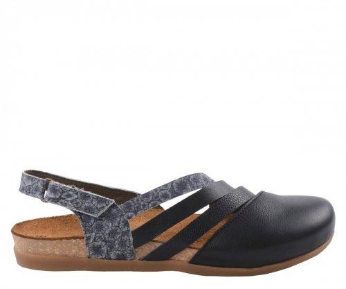 Sandały El Naturalista ZUMAIA NF45 Black Coral Fantasy Leather