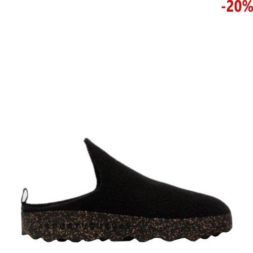 Buty Asportuguesas COME Black Wool P018023010
