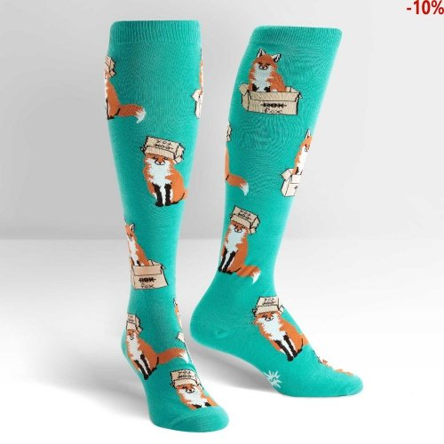 Skarpety damskie Sock It To Me Foxes in Boxes F0401