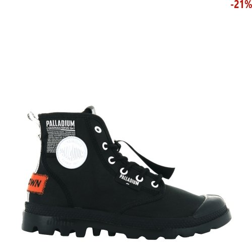 Buty Palladium PAMPA LITE OVERLAB Black 76639001