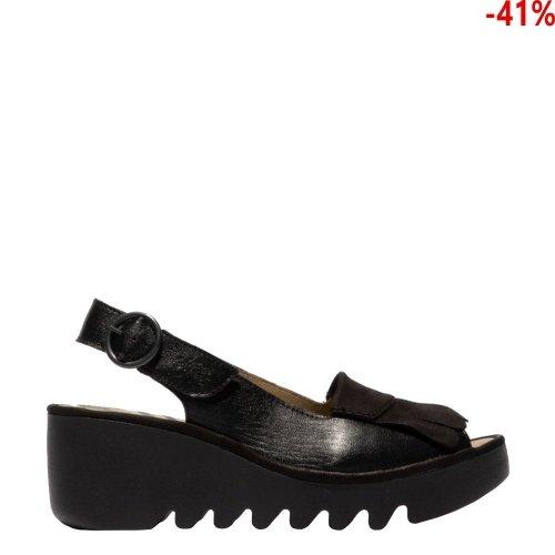 Sandały Fly London BIND 303 Black Mousse/Cupido P501303004