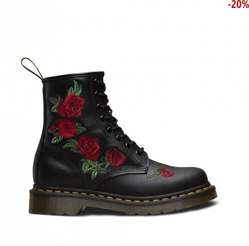 Buty Dr. Martens 1460 VONDA Black Softy T 24722001