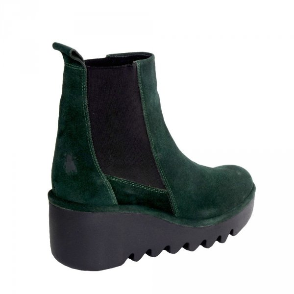 Botki Fly London BAGU 233 Green Forest Oil Suede P501233001
