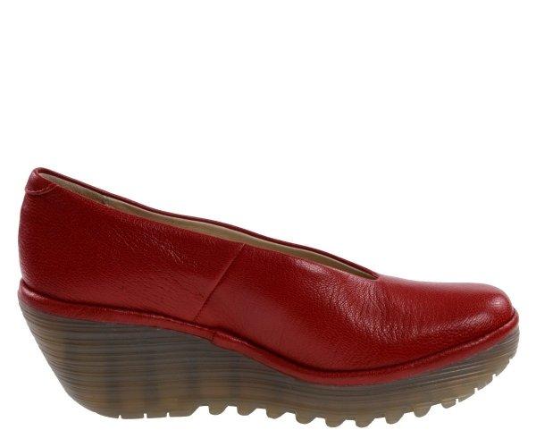 Czółenka Fly London YAZ Lipstick Red Mousse P500025217