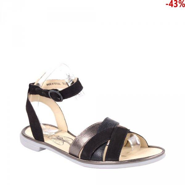 Sandały Fly London CUNE 165 Black Bronze Cupido Mousse Idra P501165000
