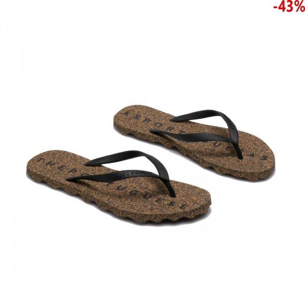 Klapki Asportuguesas BASE Black Black P018049002