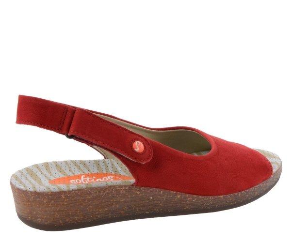 Sandały Softinos ALL 454 Red Cupido P900454004