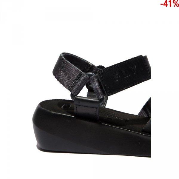 SandałyFly London BENA 724 Black Bridle P144724000