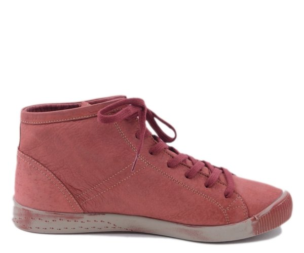 Botki Softinos ISLEEN Scarlet Washed Lea