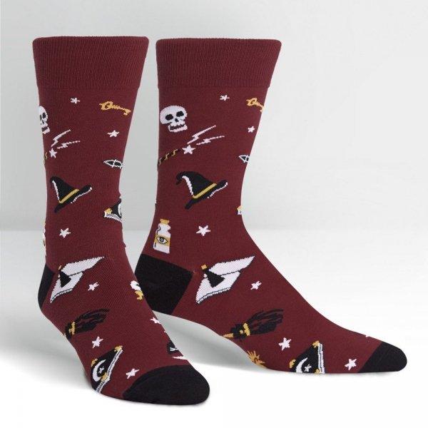 Skarpety męskie Sock It To Me Spells Trouble MEF0325