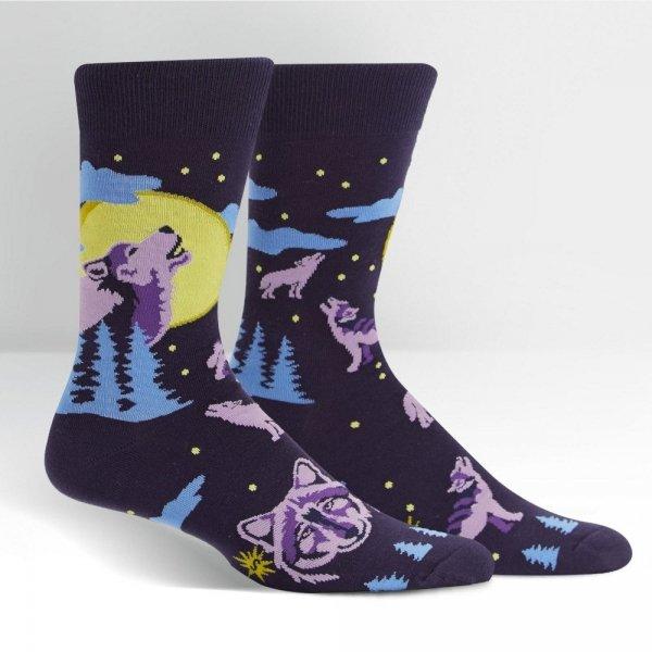 Skarpety męskie Sock It To Me 6 Wolf Moon MEF0376