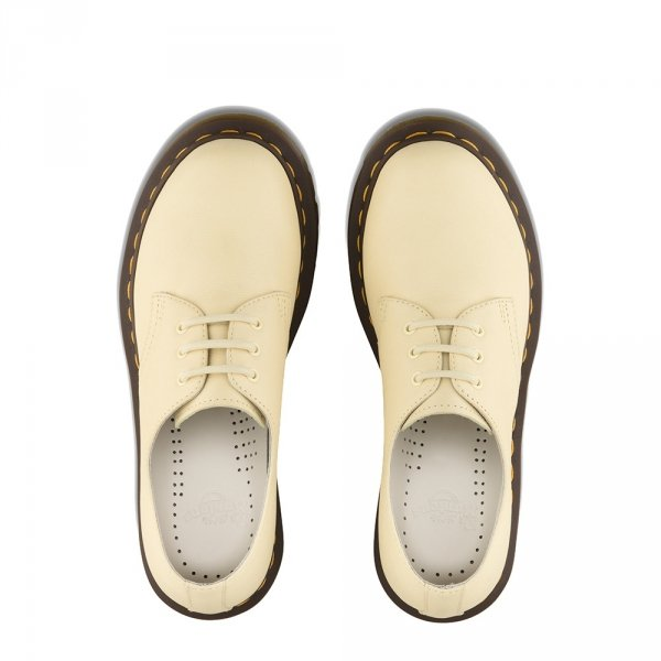 Półbuty Dr. Martens 1461 Pastel Yellow Virginia 24481757