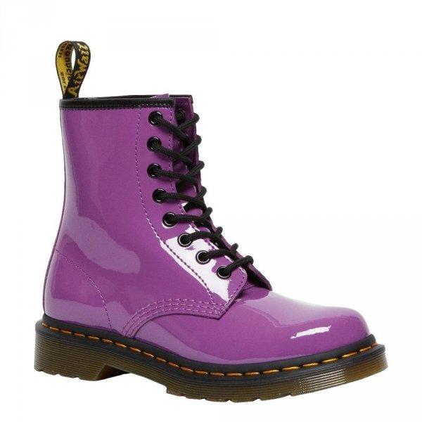 Dr. Martens 1460 Bright Purple Patent Lamper 26425501