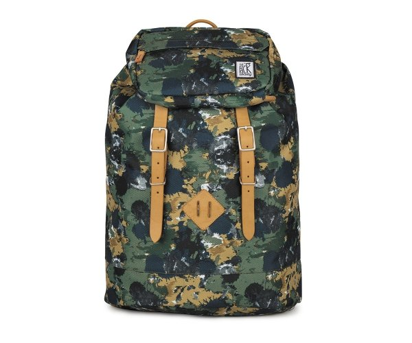 Plecak The Pack Society PREMIUM BACKPACK GREEN CAMO 181CPR703.74