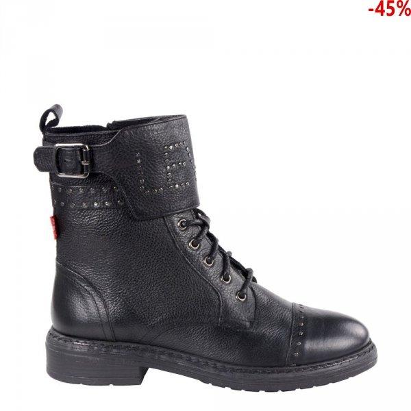 Botki Levi's SLY STUDS Regular Black 383550081