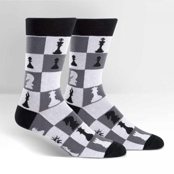 Skarpety męskie Sock It To Me Checkmate MEF0169