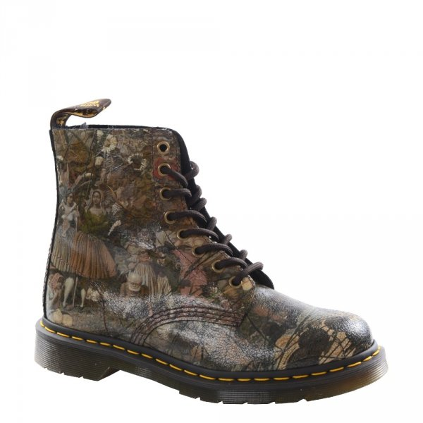 Buty Dr. Martens 1460 PASCAL DADD TATE Multi Cristal Suede 24190102