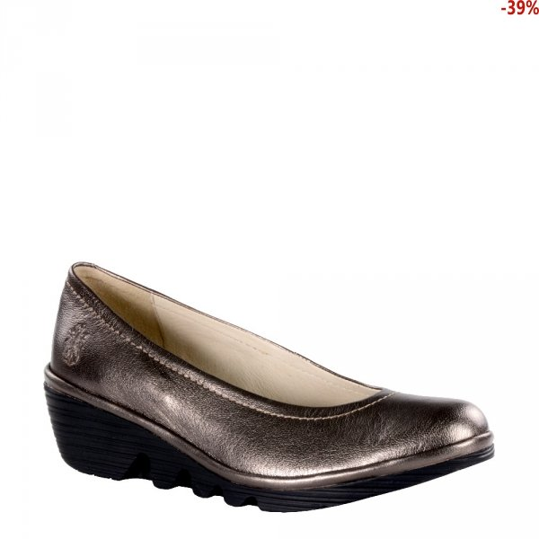 Czółenka Fly London PUMP Bronze Idra (Black Sole) P500424096