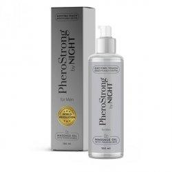 Olejek do masażu erotycznego o zapachu PHEROSTRONG NIGHT  dla mezczyzn 100ml
