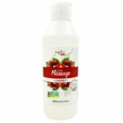 Żel do masażu i lubrykant w jednym Wiśniowy zapach 250ml