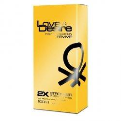 GOLD Love Desires PREMIUM 2x mocniejsze feromony women 100ml