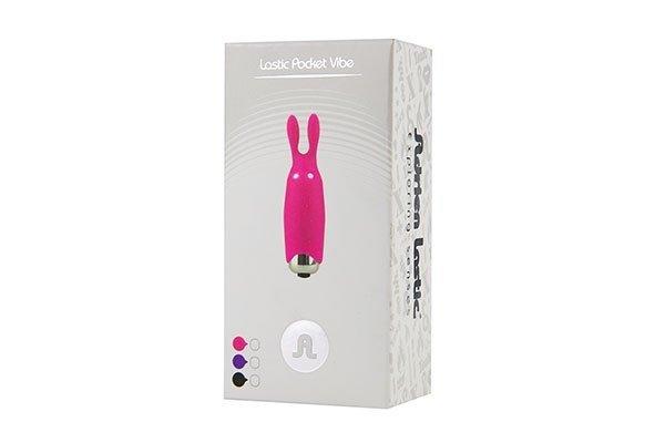 Stymulator-Wibrator - Lastic pocket vibe RabbitPink