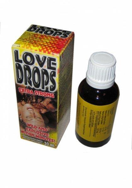 Krople podniecajace dla Pań  -LOVE DROPS 30 ML - BEATE
