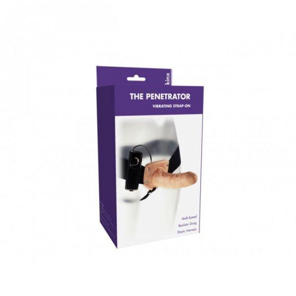 Proteza-The Penetrator Vibrating Strap-On Kinx