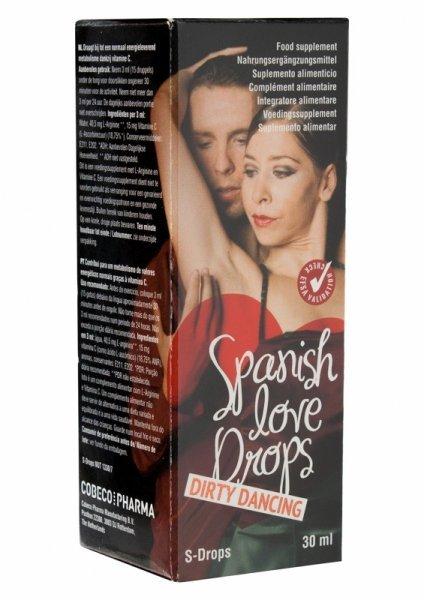 Krople na podniecenie kobiety -SPANISH LOVE DROPS DD 30 ML