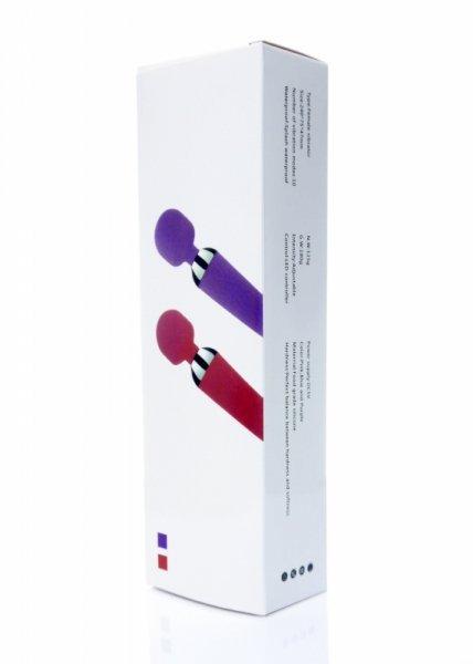 Stymulator-Power Massager Wand USB Pink 16 funkcji