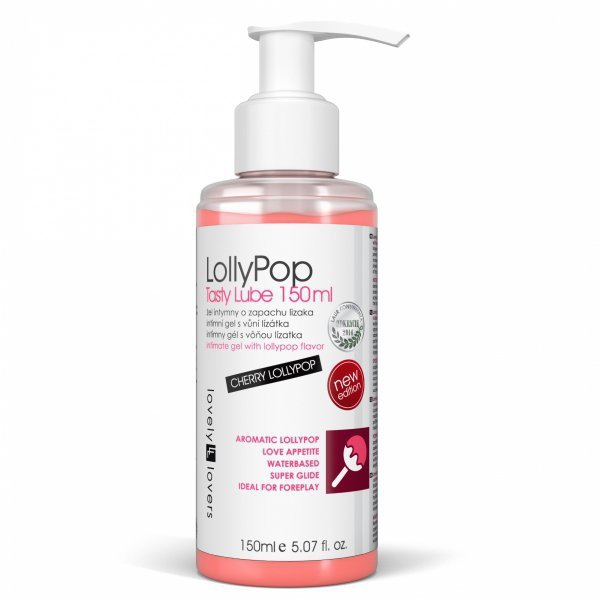 LOVELY LOVERS LollyPop Tasty Lube 150ml