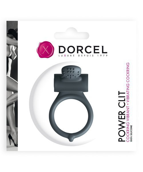 Marc Dorcel POWER CLIT pierścień na penisa z wibracjami