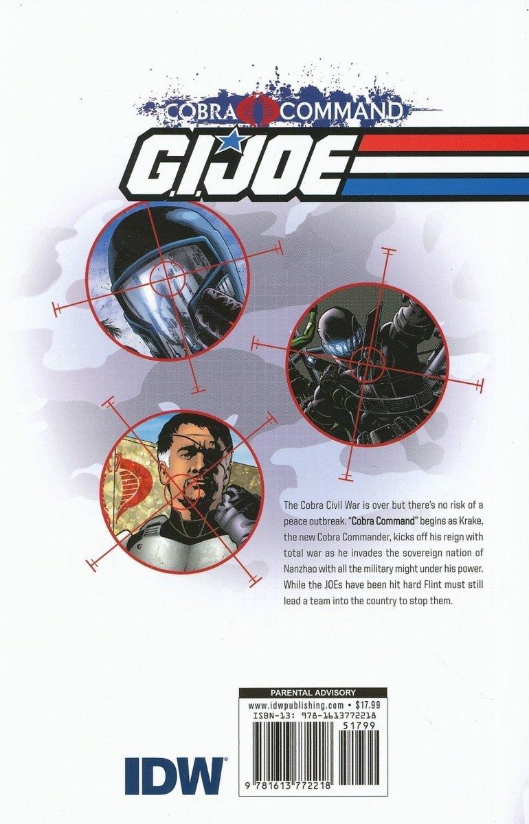 GI JOE V2 COBRA COMMAND TP VOL 01