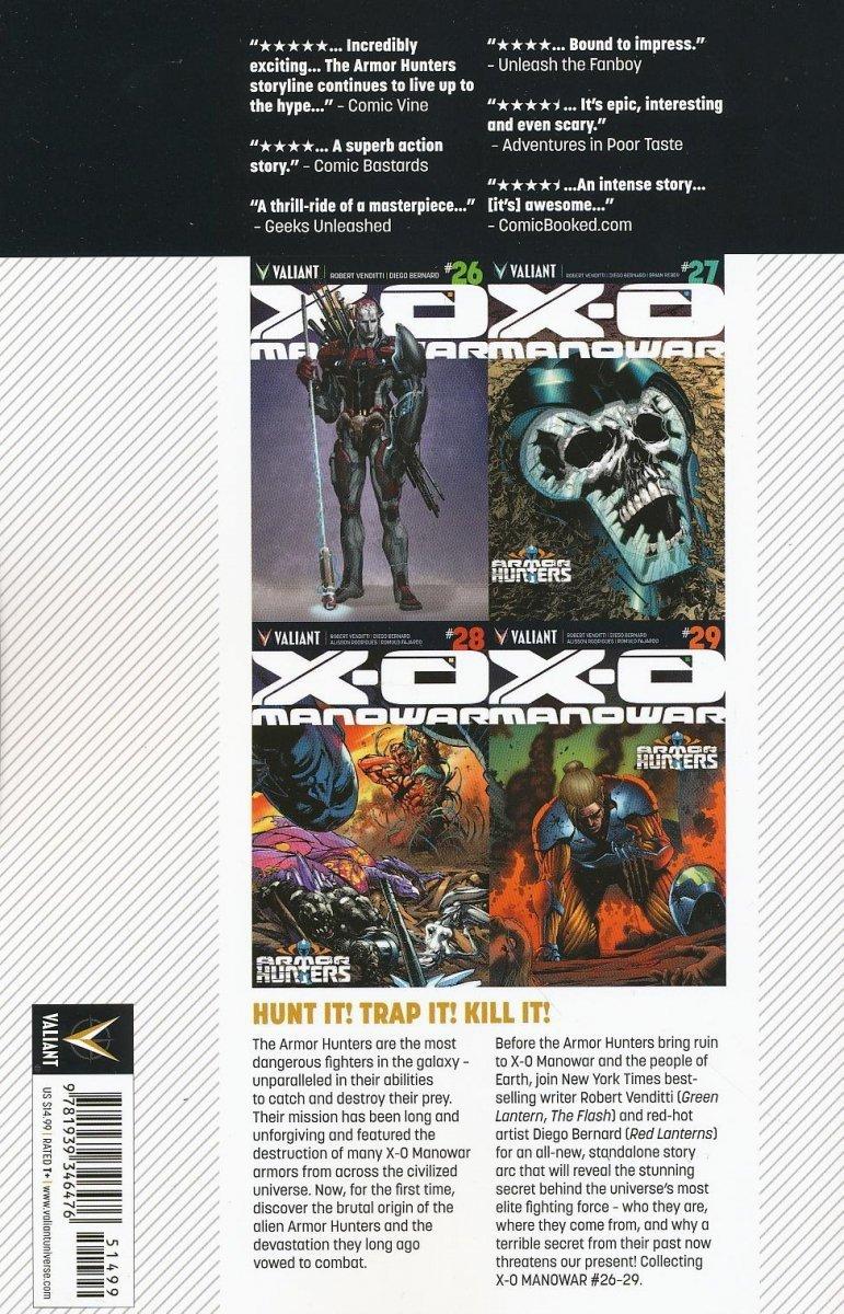 X-O MANOWAR TP VOL 07 ARMOR HUNTERS