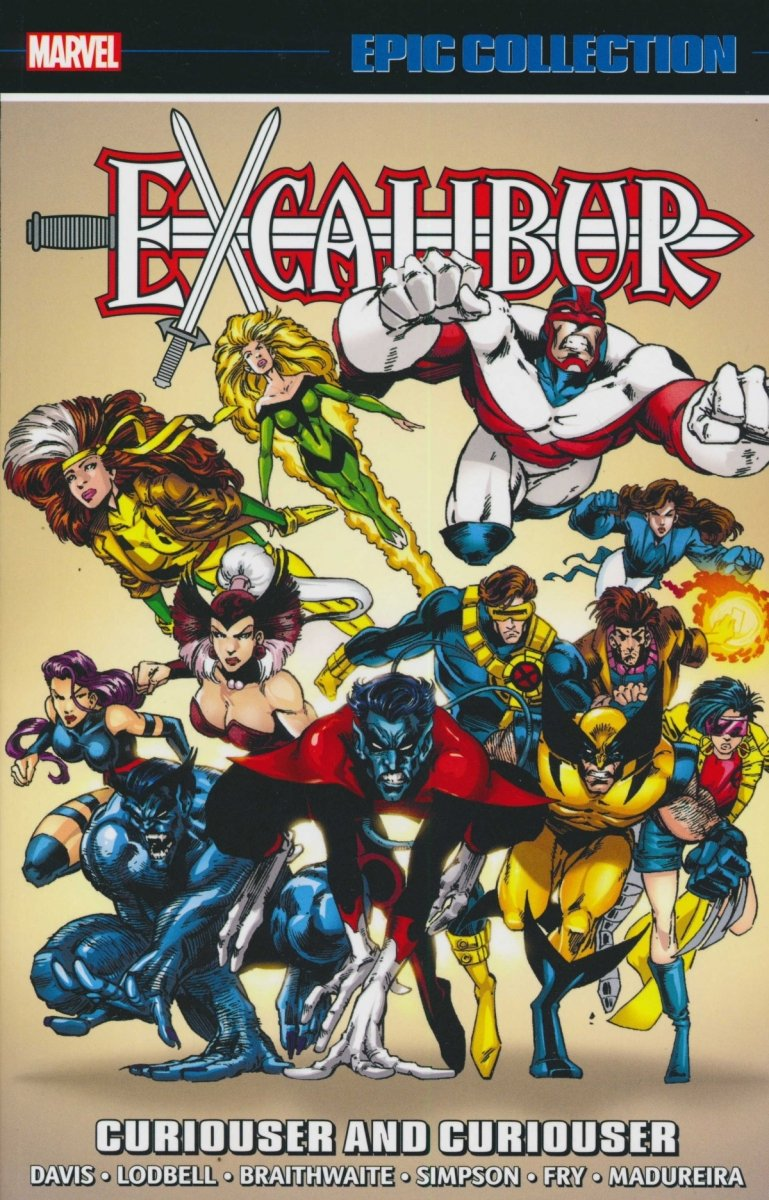 EXCALIBUR EPIC COLLECTION TP CURIOUSER AND CURIOUSER