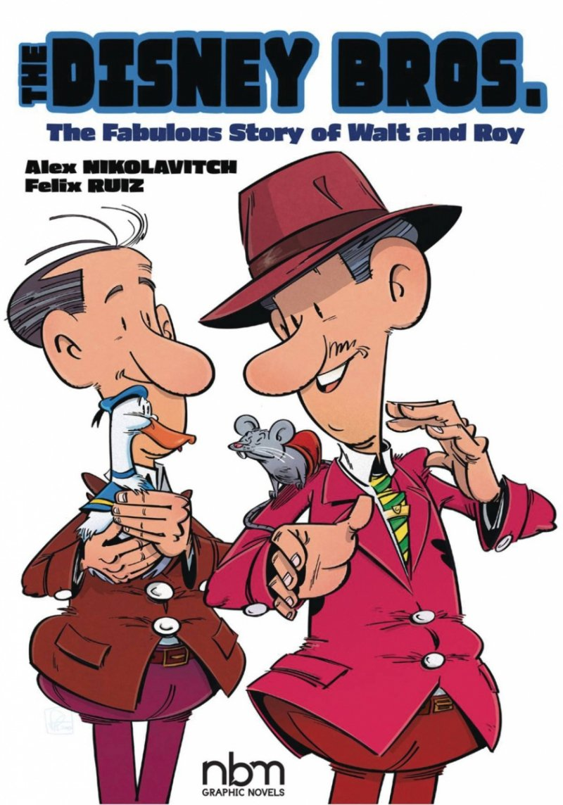 DISNEY BROS FABULOUS STORY OF WALT AND ROY GN