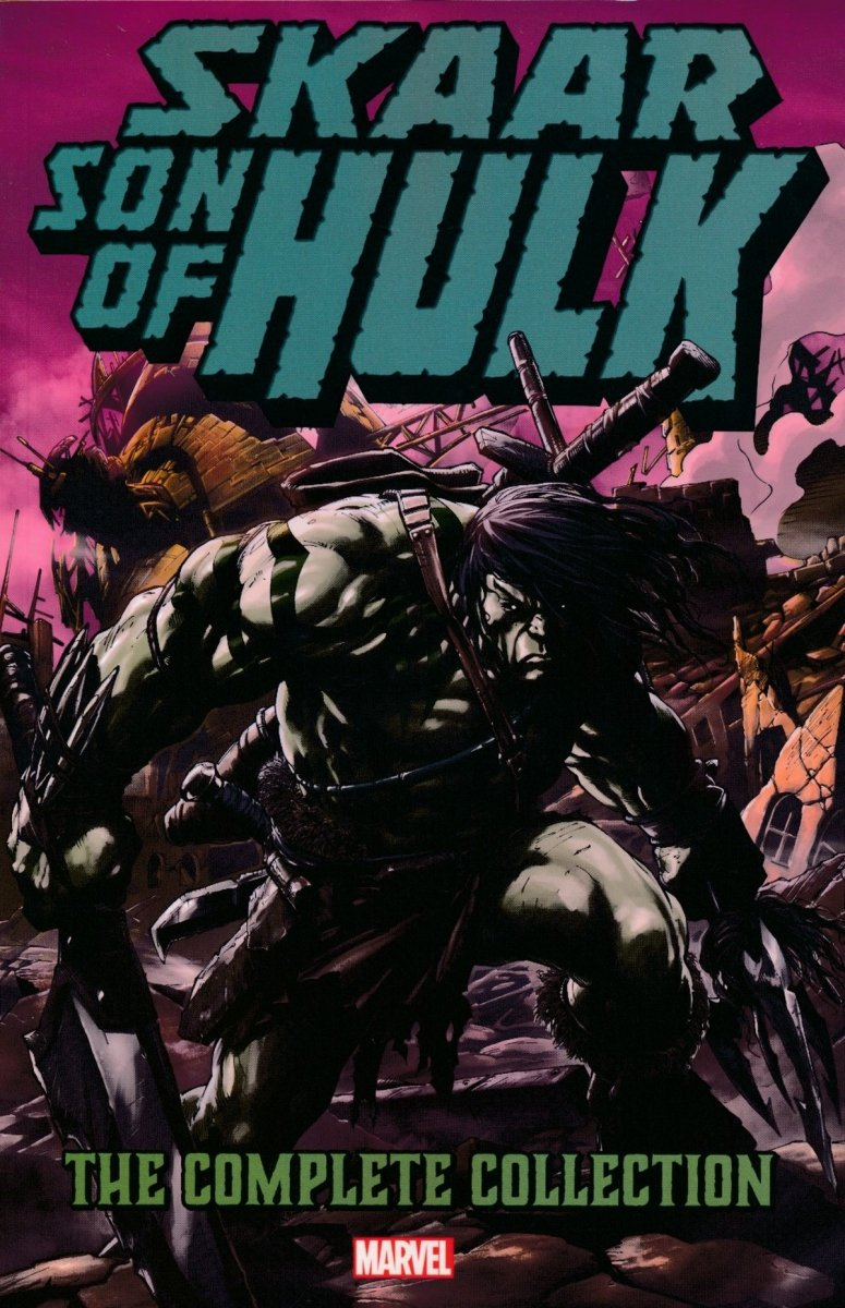 SKAAR SON OF HULK TP COMPLETE COLLECTION (Oferta ekspozycyjna)