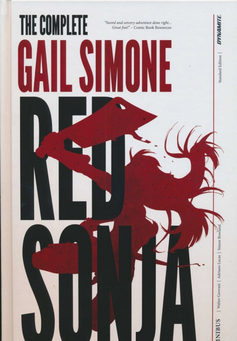 RED SONJA COMPLETE GAIL SIMONE HC OVERSIZED